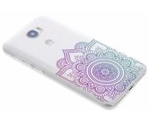Multicolor Mandala Design TPU Hülle für Huawei Y5 2/Y6 2 Compact