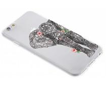 Tieren-Design TPU Hülle für iPhone 6 / 6s