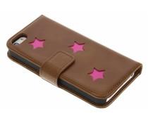 Fabienne Chapot Pink Reversed Star Booktype für das iPhone 5 / 5s / SE