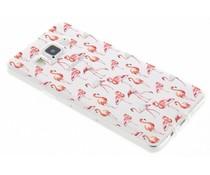 Flamingo Design TPU Silikon-Hülle Samsung Galaxy A5