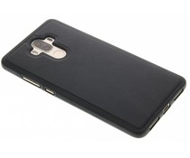 Schwarzer Leder TPU Case für das Huawei Ascend Mate 9