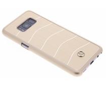 Mercedes-Benz Wave VIII Brushed Aluminium Case für Samsung Galaxy S8