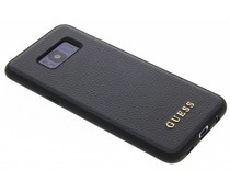 Guess Schwarzer iriDescent Hardcase Samsung Galaxy S8 Plus
