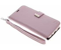 Valenta Rosafarbenes Booklet Premium Handstrap für das Samsung Galaxy S8