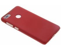 Rote unifarbene Hardcase-Hülle für Huawei Y6 Pro (2017) / P9 Lite Mini