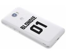 BFF Blondie Love TPU Hülle für Huawei Y5 2 / Y6 2 Compact