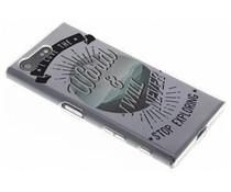Quote TPU Handyhülle für das Sony Xperia X Compact