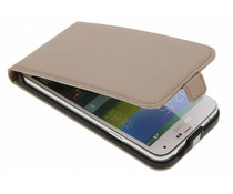 Selencia Luxus Flipcase Flipcase für Samsung Galaxy S5 (Plus) / Neo