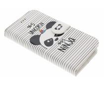 Design TPU Booktype Hülle für Samsung Galaxy A3 (2016)