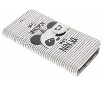 Design TPU Booktype Hülle für Samsung Galaxy S8