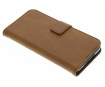 Luxuriöse Leder Booktype Hülle für Samsung Galaxy S5 (Plus) / Neo
