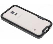 Schwarze Bumper Hülle für Samsung Galaxy S5 Mini