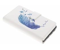 Design TPU Portemonnaie für Huawei P8 Lite