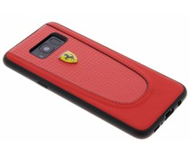 Ferrari Rotes Pit Stop Carbon Hardcover Samsung Galaxy S8 Plus