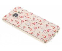 Flamingo Design TPU Silikon-Hülle für Samsung Galaxy A3 (2016)