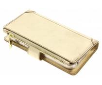 Goldfarbene Luxuriöse Portemonnaie-Hülle für das Samsung Galaxy A3 (2017)