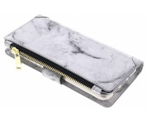 Grau Luxuriöse Portemonnaie-Hülle für das Huawei P10 Lite