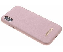 Guess Rosa iriDescent Hardcase iPhone Xs / X