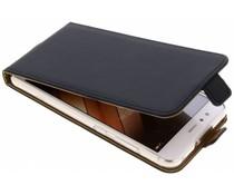 Selencia Schwarzer Luxus TPU Flipcase Huawei P10 Lite