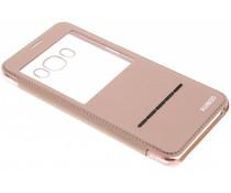 Crystal Slim Book Case mit Fenster für das Samsung Galaxy J7 (2016)