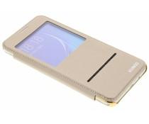 Crystal Slim Book Case mit Fenster für das Samsung Galaxy J5