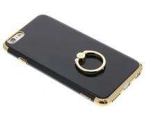 Goldfarbene Hardcase Hülle mit Ring iPhone 6 / 6s