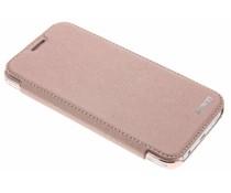 Rosafarbener Crystal Slim Book Case Samsung Galaxy J5