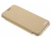 Goldfarbener Crystal Slim Book Case für das Samsung Galaxy J5