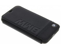 BMW Real Leather Booktype Case iPhone Xs / X