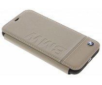 BMW Real Leather Booktype Case iPhone X