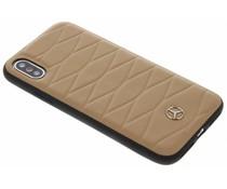 Mercedes-Benz Hellbrauner Pattern III Hard Case iPhone X