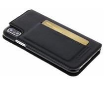 Bugatti Schwarzer Parigi Booklet Case iPhone Xs / X