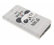 Design TPU Booktype Hülle für Samsung Galaxy S7