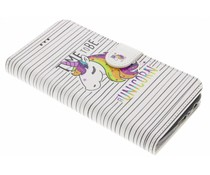 Design TPU Booktype Hülle für Motorola Moto G5 Plus