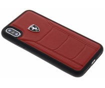 Ferrari Roter Heritage Leather Hard Case iPhone X