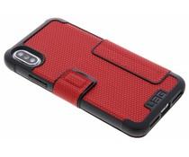 UAG Roter Metropolis Folio Case für das iPhone Xs / X