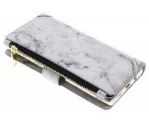 Graue Luxuriöse Portemonnaie-Hülle Samsung Galaxy Note 8
