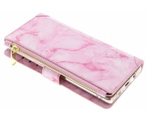 Rosa Luxuriöse Portemonnaie-Hülle Samsung Galaxy Note 8