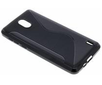 Schwarze S-Line TPU Hülle für das Nokia 2