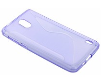 Lila S-Line TPU Hülle für das Nokia 2