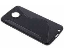 Schwarze S-Line TPU Hülle für das Motorola Moto Z2 Force