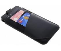 Valenta Schwarze Tasche Supreme für iPhone 8 Plus / 7 Plus / 6 Plus