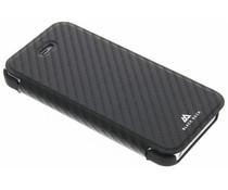 Black Rock Flex Carbon Booklet Case für das iPhone 5/5s/SE - Schwarz