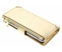 Goldfarbene Luxuriöse Portemonnaie-Hülle für das General Mobile GM6