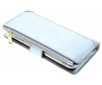 Blaue Luxuriöse Portemonnaie-Hülle für das General Mobile GM6