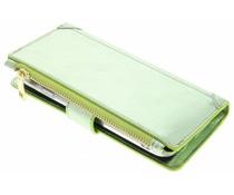 Grüne Luxuriöse Portemonnaie-Hülle für das General Mobile GM6