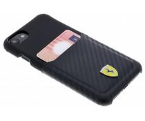 Ferrari Carbon Card Hardcase Schwarz für das iPhone 8 / 7