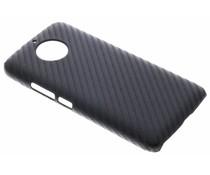 Carbon Look Hardcase-Hülle Schwarz für das Motorola Moto G5S