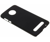 Schwarze Unifarbene Hardcase-Hülle für das Motorola Moto Z2 Force