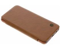 Nillkin Braun Qin Leather Slim Booktype Hülle Galaxy A8 (2018)
